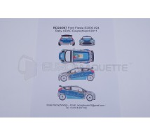Racing decals 43 - Ford Fiesta 24 Germany 2011