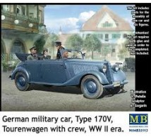 Master box - German Type 170V & crew