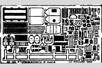 Eduard - STUG III B (italeri)