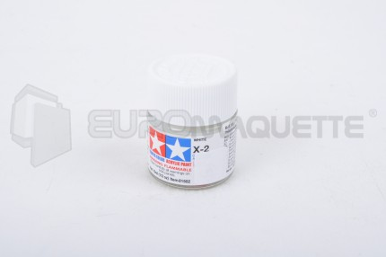 Tamiya - Blanc brillant X-2 (pot 10ml)
