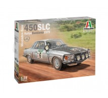 Italeri - Mercedes 450SLC Rallye Bandama 1979