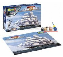 Revell - Coffret 150th Anniv Cutty Sark 1/220