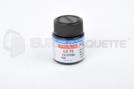 Life Color - Noir Satiné LC72 (pot 22ml)