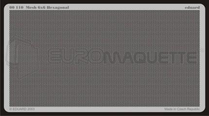 Eduard - Mesh Hexagonal 6x6