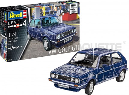 Revell - VW Golf GTI Builders choice
