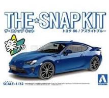 Aoshima - Toyota 86 2016 bleue 1/32 (Snap)