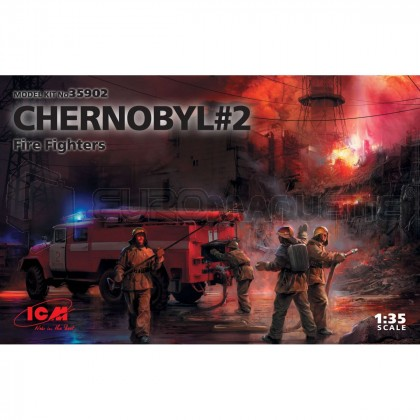 Icm - Coffret Chernobyl Fire Fighters