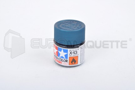 Tamiya - Bleu Métal X-13 (pot 10ml)