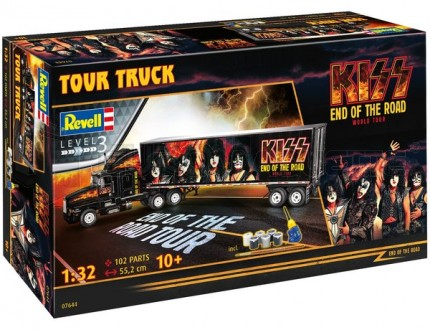 Revell - Kiss tour truck End of the road