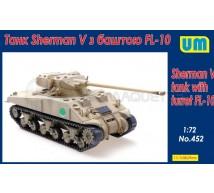 Um - Sherman V & FL-10 turret