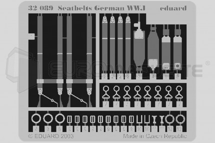 Eduard - Harnais All. WWI