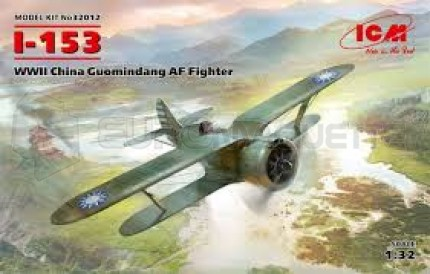 Icm - I-153 Chinese Air Force