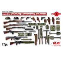 Icm - US weapon & equipment WWI