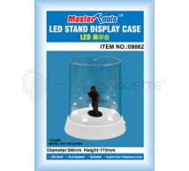 Trumpeter - Vitrine figurine 84x115mm &LED (FT)