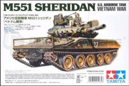 Tamiya - M551 Sheridan Vietnam