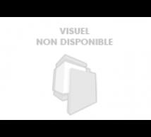 Prince August - Socles en bois Rond Noir       6x4x4 cm