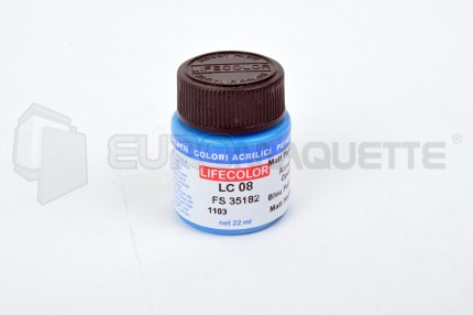 Life Color - Bleu pale mat LC08 (pot 22ml)