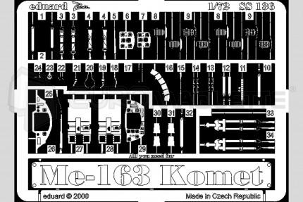 Eduard - Me-163 Komet  (academy)