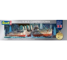 Revell - HMS Campbeltown  1/240