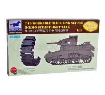 Bronco - M3/5 Stuart T16 Traks