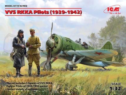 Icm - Pilote & mécano Russe WWII
