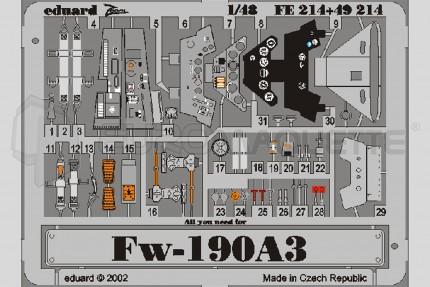 Eduard - Fw-190 A-3  (tamiya)
