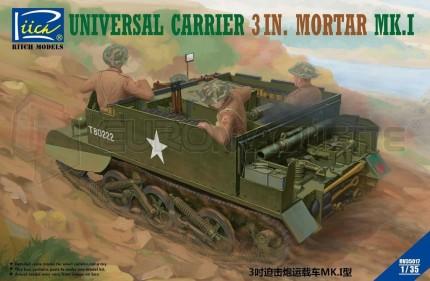 Riich models - Universal carrier & mortar