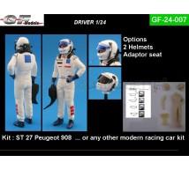Gf Models - Pilote avec baquet (2)