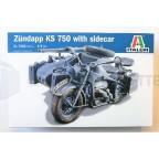 Italeri - Zundapp KS 750 side car