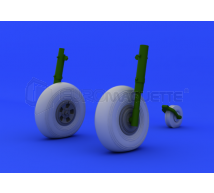 Eduard - Typhoon roues (Airfix)