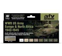 Vallejo - Coffret US Army Europe 1942/45