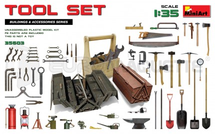 Miniart - Tool set