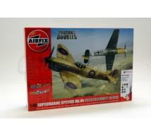 Airfix - Coffret Bf-109E/Spitfire Mk Vb