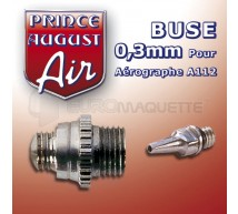 Prince August - Buse 0,3 pour HD