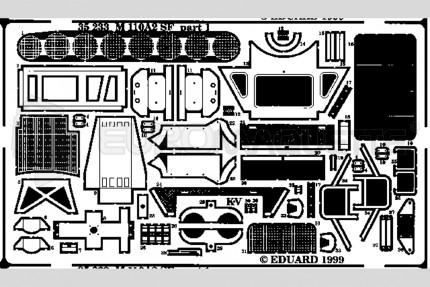 Eduard - M-110 A2 SF (revell/italeri)