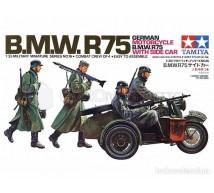 Tamiya - BMW R/75 & Side car