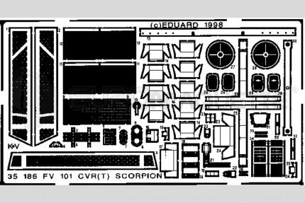 Eduard - FV-101 CVR Scorpion (revell)