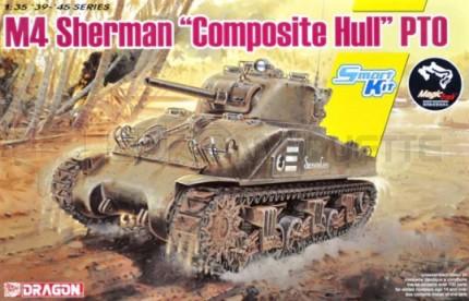 Dragon - M4 Sherman Composite Hull PTO