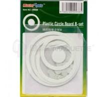 Trumpeter - Carte Plastique cercles et rounds Set B