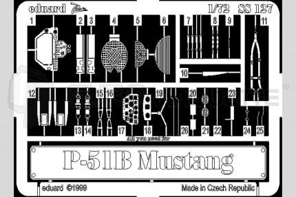 Eduard - P-51 B Mustang  (academy)