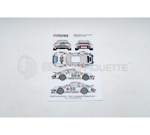 Racing decals 43 - Porsche 934 Danone LM 1977