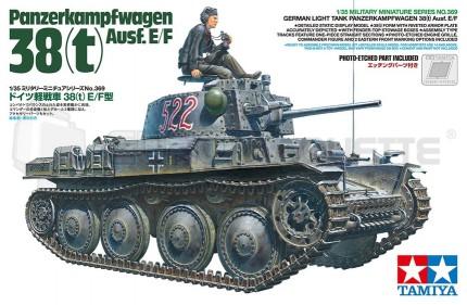 Tamiya - Pz 38(t)