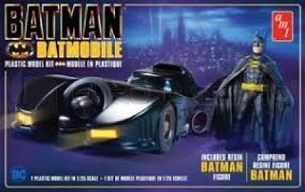 Amt - Batmobile 1989 & figure