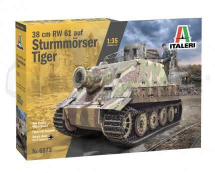Italeri - Sturmmorser Tiger 38cm