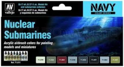 Vallejo - Coffret modern submarines (X8)