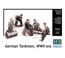 Master box - Tankistes Allemands