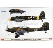 Hasegawa - Combo Ju-87G-2 & Hs-129B-1/2