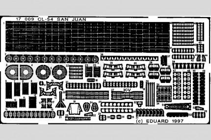 Eduard - CL-54 USS San Juan
