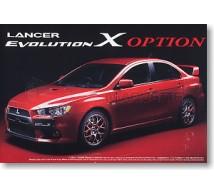 Aoshima - Mitsubishi Lancer Evo X Option