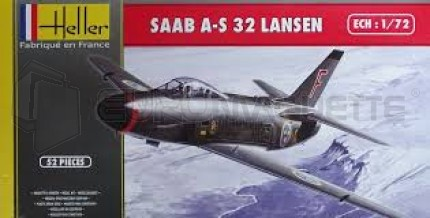 Heller - SAAB A-S 32 Lansen